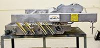 used KEY ISO-FLO VIBRATORY SHAKER, SIZE GRADER, 48x34, stainless steel, Alard item Y4115