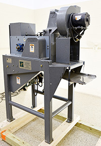 "used, SPLIT NUT ""BLANCHER"", Cantrell Model 341B, peanut cleaner, separator, Alard item Y4152"
