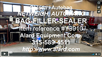 used, Ohlson Model 2M2-SS NET-WEIGH FILLER-SEALER, Alard item Y3910
