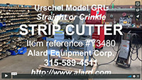 used, URSCHEL MODEL GRL FRENCH FRY CUTTER / STRIP CUTTER, Alard item Y3480