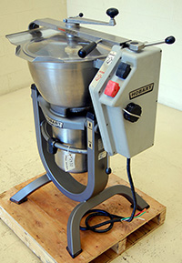 Used, HOBART CUTTER-MIXER, Model HCM-300 food processor, Alard item Y2437