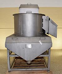 used, HEAT AND CONTROL Model BP BATCH PEELER, 36 inch, stainless steel, Alard item Y3797