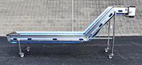 used, Z-SHAPED ELEVATING CONVEYOR, Alard item Y4402