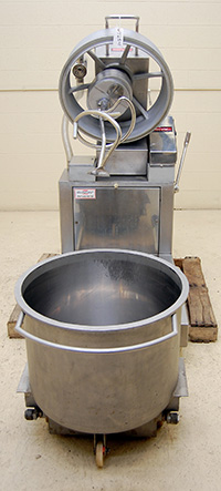 Used VACUUM SPIRAL MIXER, planetary, stainless steel, Fuerpla Model AO-160, Alard item Y2541