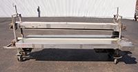 used, TWO-LEVEL INSPECTION CONVEYOR / TRIM LINE, Alard item Y0904
