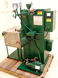 Used, ELECTRIC-POWERED 14HP STEAM BOILER. Electric Steam Generator Corporation Model 5CC-4C Boiler, Alard item Y2075