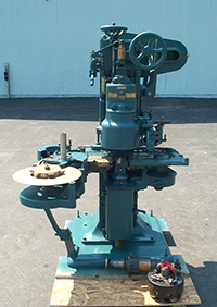 used, CANCO / AMERICAN CAN COMPANY MODEL 05 SINGLE HEAD AUTOMATIC CAN SEAMER, Alard item Z8929