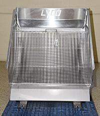 used, Lyco HYDRASIVE STATIC SCREEN, food grade, stainless steel, Alard item Y4414