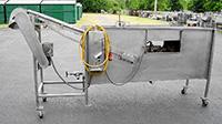 used Robins-Drago DESTONER, Tramp Metal Eliminator (TME) washer, Alard item Y3551