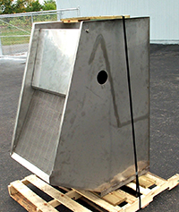 NEW STATIC SCREEN SEPARATOR, Alardsieve 24x36, all stainless steel, Alard item Z3200