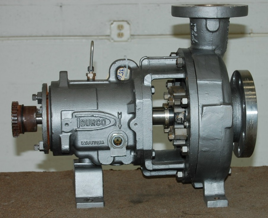 Durco Mark 3, 316 stainless steel CENTRIFUGAL PUMP, 4 inch